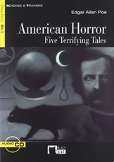 AMERICAN HORROR FIVE TERRIFYING TALES+CD