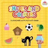 SHAPES AND COLOURS - FLASHCARDS + ACTIVITY BOOK - EDUCARDS