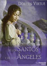 CARTAS ADIVINATORIAS DE LOS SANTOS ANGELES ( LIBRO + CARTAS )