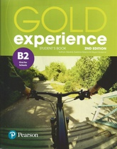 GOLD EXPERIENCE 2 EDITION B2 FIRST FOR SCHOOLS STUDENTS' BOOK