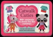 Tapa del libro Life Canvas - Mini Tins - Catwalk Cuties - 60 + Animals To Der