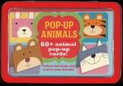 Tapa del libro Life Canvas - Mini Tins - Animals. 60 + Pop-up Cards!