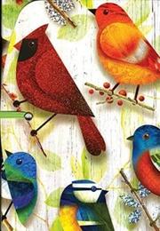 Tapa del libro Life Canvas - mi Cuaderno de Notas - Pajaritos