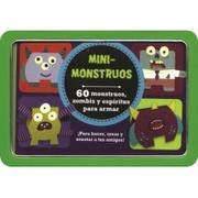 Tapa del libro Life Canvas - Mini Tins - Mini Monstruos