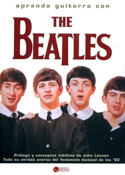 Tapa del libro Aprenda Guitarra con The Beatles