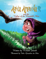 Tapa del libro Ariela Aparecida And The Valley Of The Waterfall's Mist