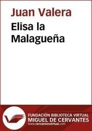 Tapa del libro Elisa la Malagueña