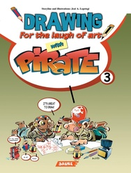 Tapa del libro Drawing For The Laugh Of Art With Pirata