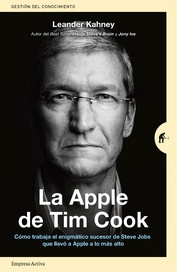 Tapa del libro La Apple de Tim Cook