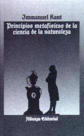 Tapa del libro PRINCIPIOS METAFISICOS DE LA CIENCIA DE LA NATURALEZA