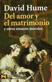Tapa del libro DEL AMOR Y EL MATRIMONIO Y OTROS ENSAYOS MORALES