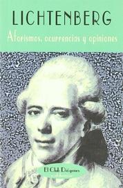 Tapa del libro AFORISMOS OCURRENCIAS Y OPINIONES