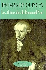 Tapa del libro LOS ULTIMOS DIAS DE EMMANUEL KANT