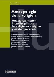 Tapa del libro Antropología de la Religión