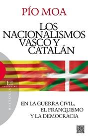 Tapa del libro Los Nacionalismos Vascos y Catalán