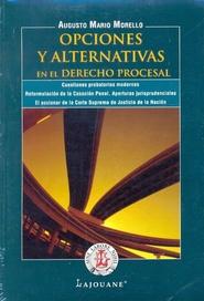 Tapa del libro OPCIONES Y ALTERNATIVAS EN EL DERECHO PROCESAL