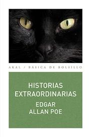 Tapa del libro HISTORIAS EXTRAORDINARIAS