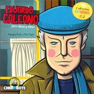 Tapa del libro EDUARDO GALEANO PARA CHICAS Y CHICOS