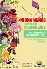 Tapa del libro #NI UNA MENOS DESDE LOS PRIMEROS AÑOS