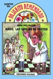 Tapa del libro NIÑOS LAS BRUJAS NO EXISTEN