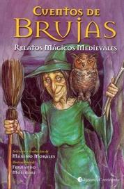 Tapa del libro CUENTOS DE BRUJAS RELATOS MAGICOS MEDIEVALES