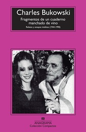 Tapa del libro FRAGMENTOS DE UN CUADERNO MANCHADO DE VINO