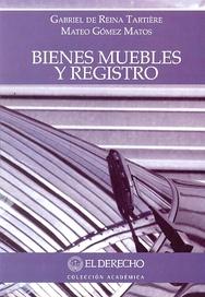 Tapa del libro BIENES MUEBLES Y REGISTRO