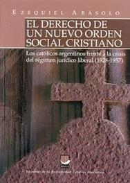 Tapa del libro EL DERECHO DE UN NUEVO ORDEN SOCIAL CRISTIANO