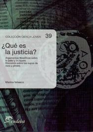 Tapa del libro QUE ES LA JUSTICIA