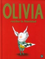 Tapa del libro OLIVIA RECIBE LA NAVIDAD