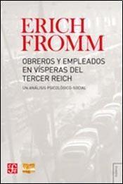 Tapa del libro OBREROS Y EMPLEADOS EN VISPERAS DEL TERCER REICH