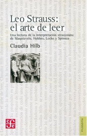 Tapa del libro LEO STRAUSS EL ARTE DE LEER