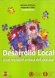 Tapa del libro DESARROLLO LOCAL