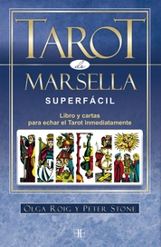Tapa del libro TAROT DE MARSELLA SUPERFACIL (L