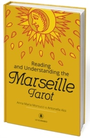 Tapa del libro READING AND UNDERSTANDING MARSEILLE TAROT