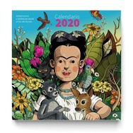 Tapa del libro CALENDARIO 2020 ANTIPRINCESAS FRIDA
