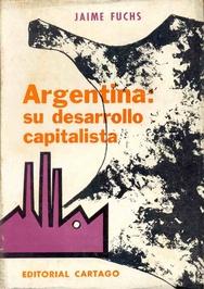 Tapa del libro ARGENTINA SU DESARROLLO CAPITALISTA
