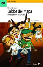 Tapa del libro CAIDOS DEL MAPA