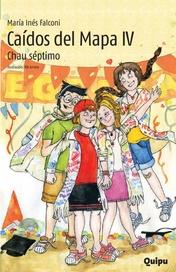 Tapa del libro CAIDOS DEL MAPA IV -CHAU SEPTIMO-