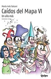 Tapa del libro CAIDOS DEL MAPA  VI UN AÑO MAS FACIL