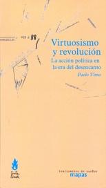 Tapa del libro VIRTUOSISMO Y REVOLUCIÓN