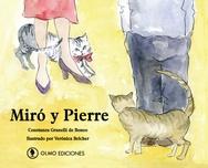 Tapa del libro MIRÓ Y PIERRE