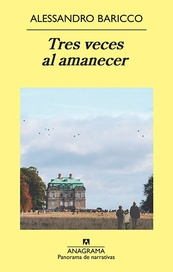 Tapa del libro TRES VECES AL AMANECER