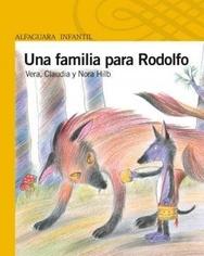 Tapa del libro UNA FAMILIA PARA RODOLFO