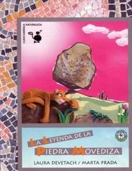 Tapa del libro LA LEYENDA DE LA PIEDRA MOVEDIZA,