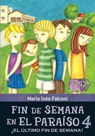 Tapa del libro FIN DE SEMANA EN EL PARAISO 4