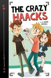 Tapa del libro THE CRAZY HAACKS Y LA CAMARA IMPOSIBLE