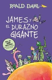Tapa del libro JAMES Y EL DURAZNO GIGANTE