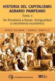 Tapa del libro TOMO 3 HISTORIA DEL CAPITALISMO AGRARIO PAMPEANO