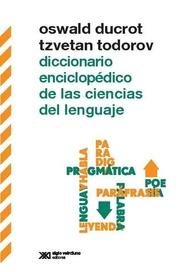 Tapa del libro DICCIONARIO ENCICLOPÉDICO DE LAS CIENCIAS DEL LENGUAJE